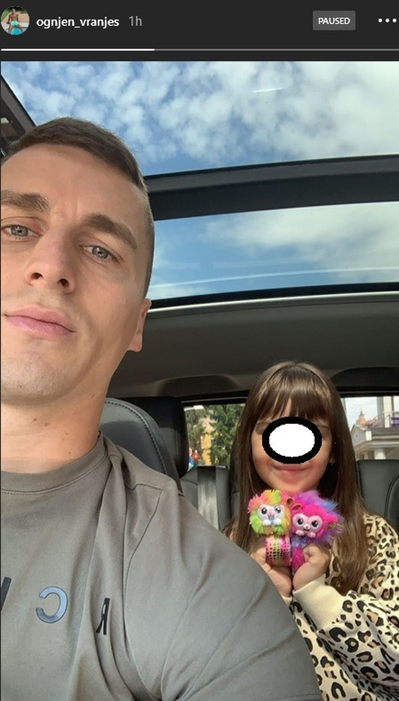 Vranješ sa ćerkom