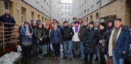 Protest mieszkańców Próchnika