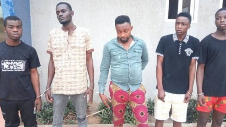 Tema: 5 Nigerians rape woman in front of her husband