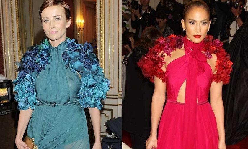 Kasia Zielińska i Jennifer Lopez w Gucci