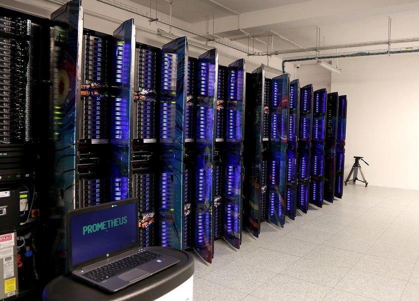 Superkomputer w AGH