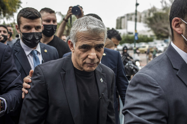 Szef MSZ Izraela Ja'ir Lapid