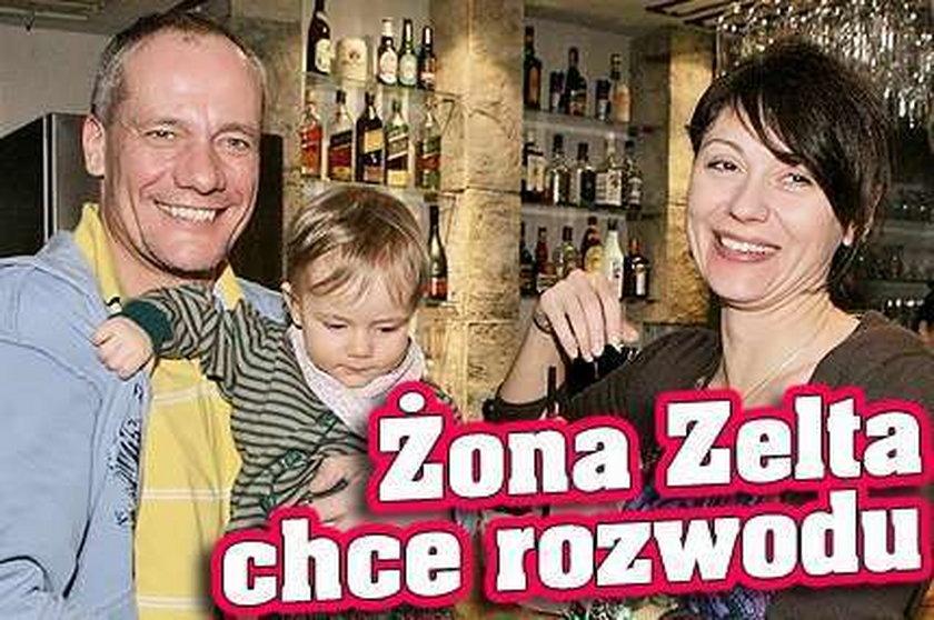 Żona Zelta chce rozwodu