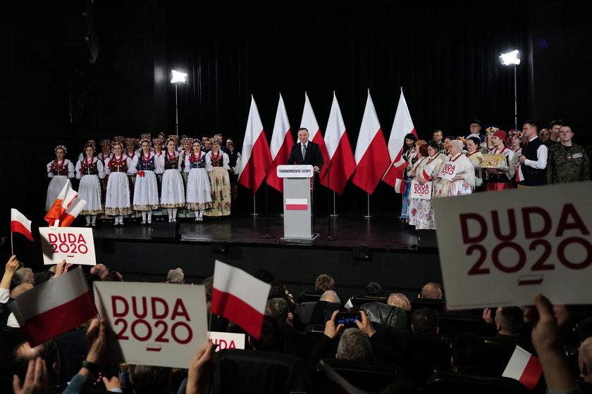 Spotkanie z Andrzejem Dudą w Tarnowskich Górach