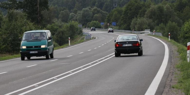 Dawne drogi krajowe w coraz gorszym stanie
