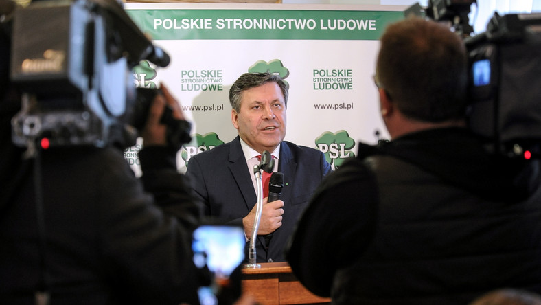 Janusz Piechociński podczas Rady Naczelnej Polskiego Stronnictwa Ludowego
