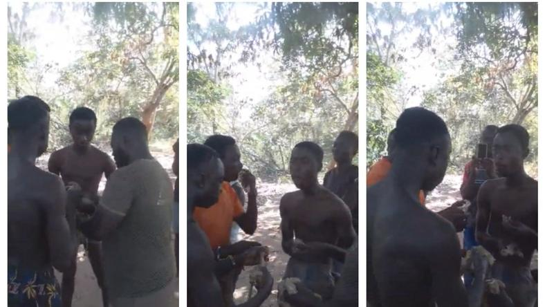Akomadan students forced to eat raw chicken