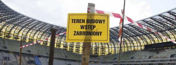PGE Arena Gdańsk w budowie