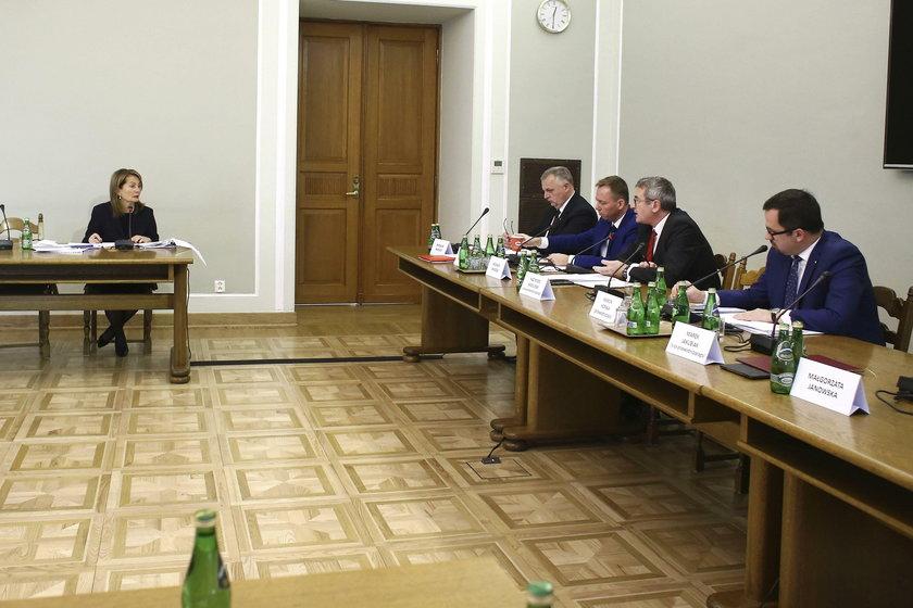 Elżbieta Chojna-Duch przed komisją śledczą ds. VAT