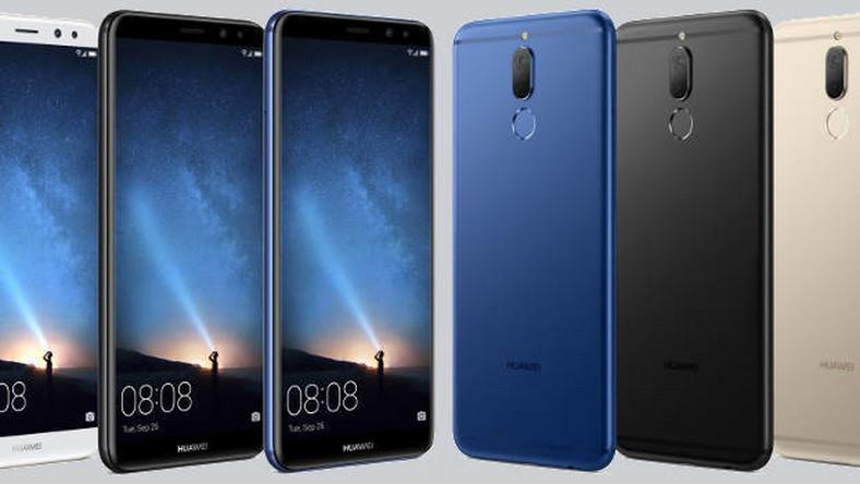 Wspaniały Huawei Mate 10 Lite w drodze. Ma ekran FullView i cztery obiektywy TA69