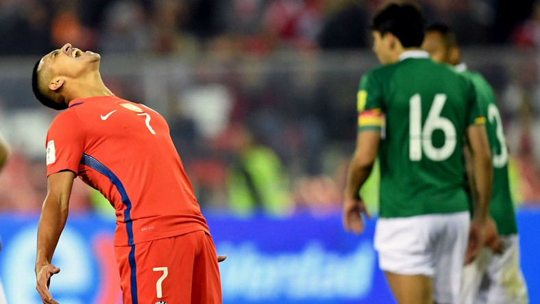 CONMEBOL World Cup Qualifier Chile 0 Bolivia 0: South