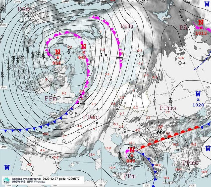 Efekt zmian pogodowych widać po 10-14 dniach