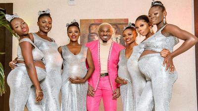 Cet homme d'affaires Nigérian a engrossé ses six épouses en même temps
