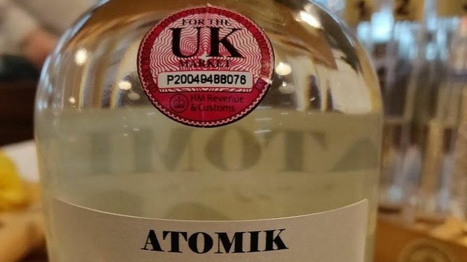 Atomik, czyli wódka wyprodukowana ze składników ze Strefy Wykluczenia / fot. The Chernobyl Spirit Company
