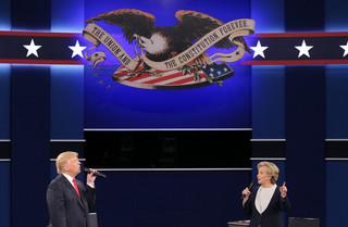 Znikające głosy na Hillary Clinton