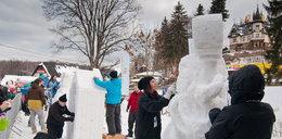 Zobacz, co można rzeźbić w śniegu