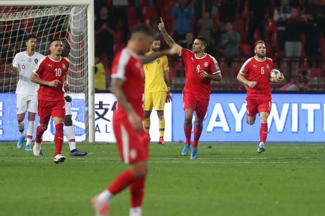 Detalj sa utakmice Srbija - Portugal