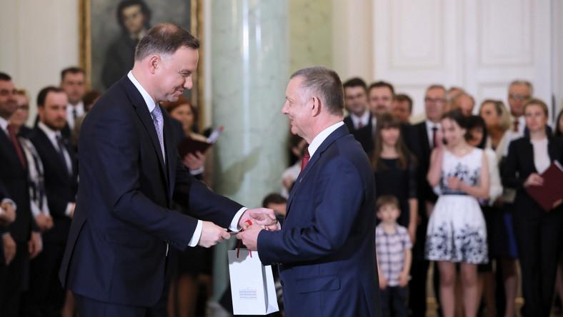 Marian Banaś i Andrzej Duda