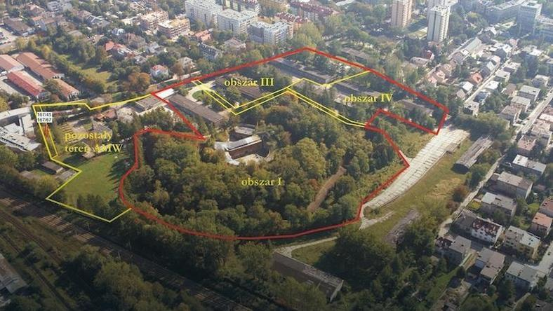 Fort Bronowice i jego okolice