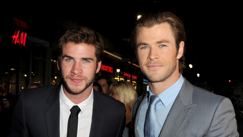 Liam i Chris Hemsworth