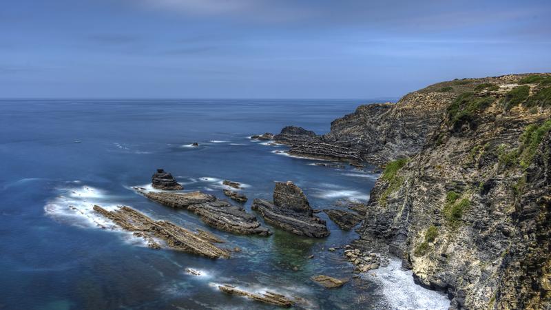 Południowowschodnie wybrzeże Portugaliii