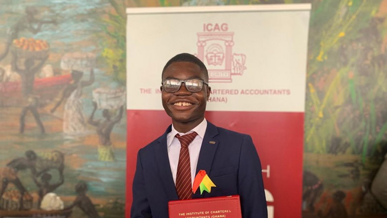 Solomon Etornam Asuhene is the youngest Chartered Accountant in Ghana