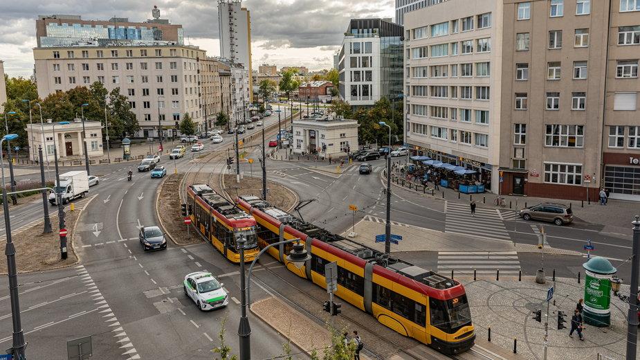 Warszawa: plac Unii Lubelskiej