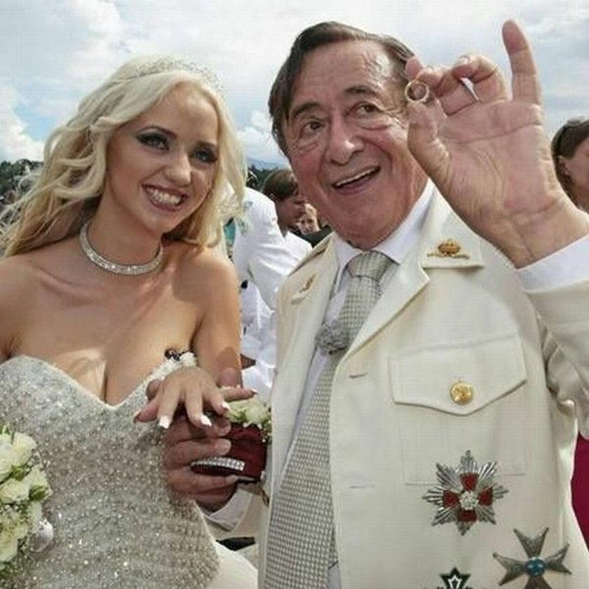 Wyszła za milionera! Zobacz, jak jej życie zmieniło się Cathy Schmitz Richard Lugner