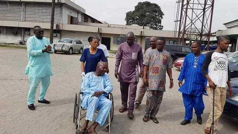 Baba Suwe is expected to continue on a medical trip abroad to get further treatment after getting discharged from the Lagos University Teaching Hospital (LUTH). [Instagram/realyomifabiyi]