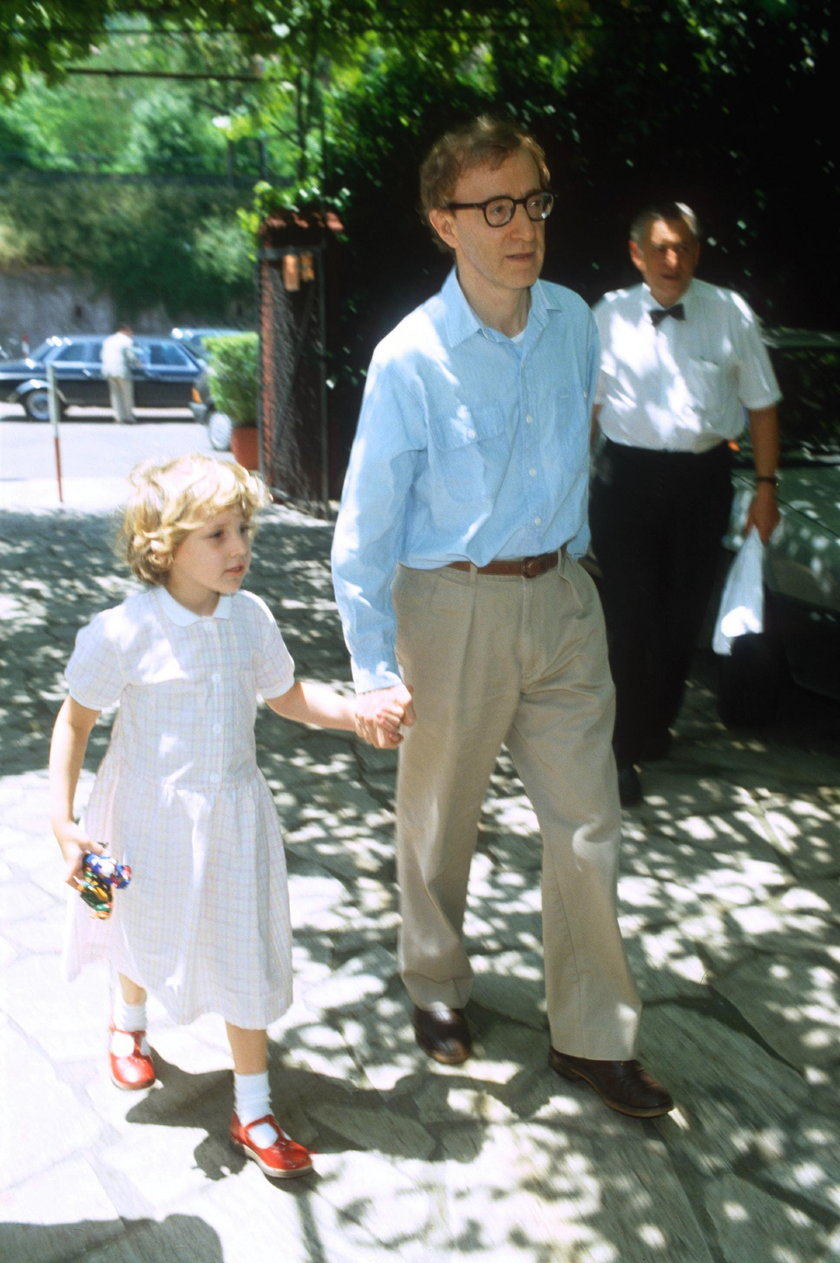 Woody Allen z córką Dylan