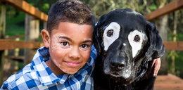 Chory chłopiec znalazł wyjątkowego przyjaciela. Odmienił jego życie