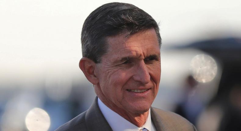 Former US National Security Advisor Michael Flynn.