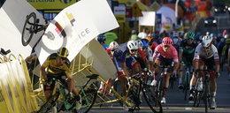 Koszmarna kraksa na finiszu pierwszego etapu Tour de Pologne!