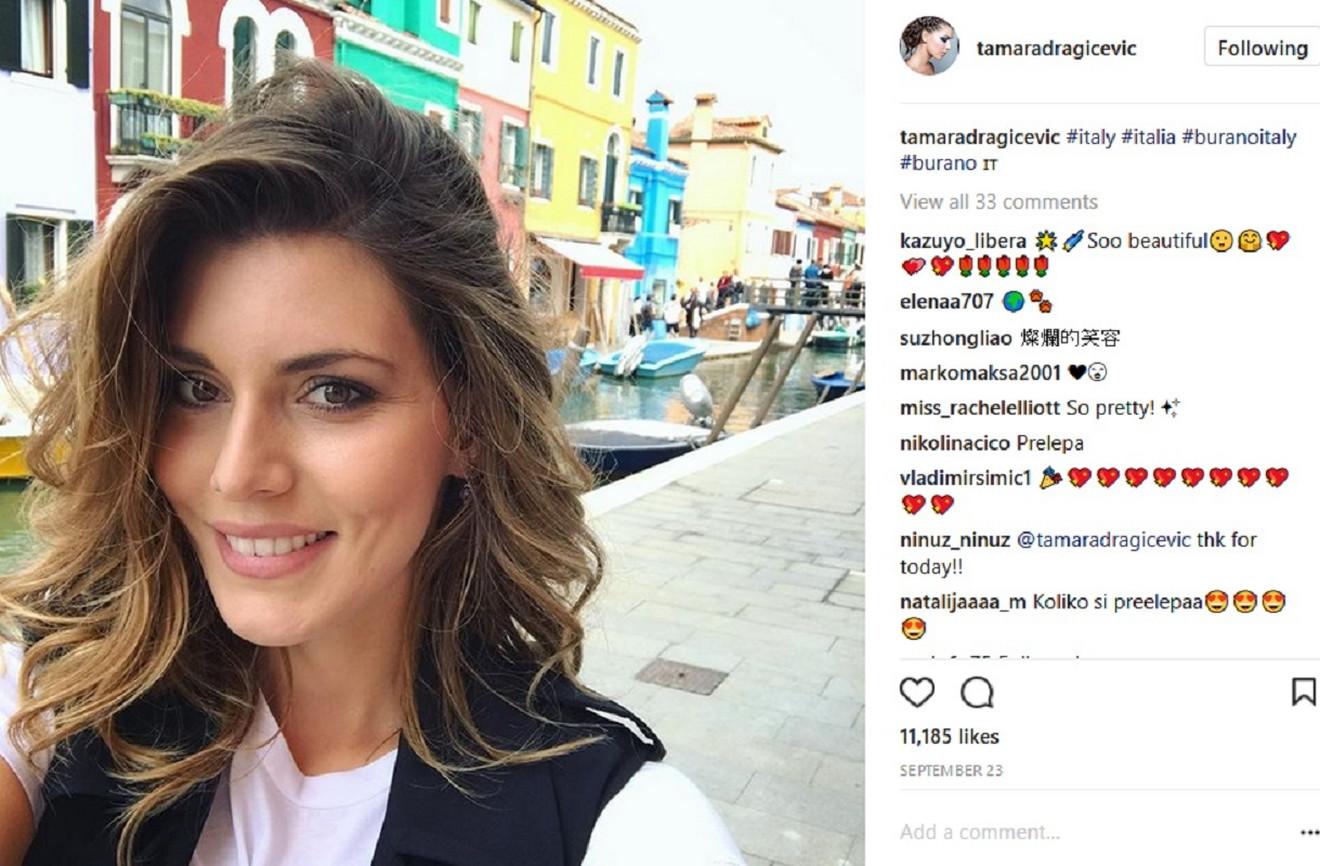 Tamara Dragićević je primer lepih Beograđanki