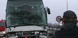 Wypadek autokaru kibiców Legii. Nie żyje jedna osoba