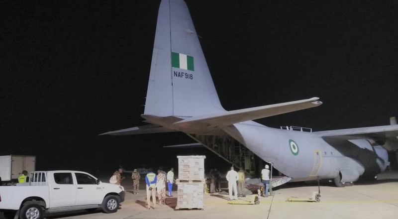 Nigeria is gearing up for 2019 general elections as Air Force airlifts electoral materials across the country