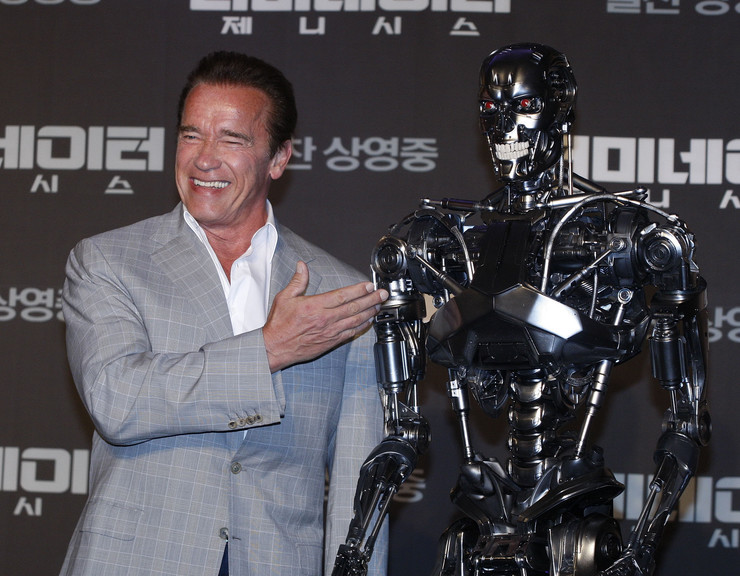 arnold svarceneger terminator epa KIM HEE-CHUL