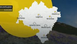 Prognoza pogody dla woj. dolnośląskiego – 24.03