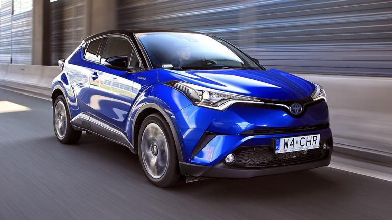Toyota C-HR Hybrid - dobrze wygląda i jest oszczędna