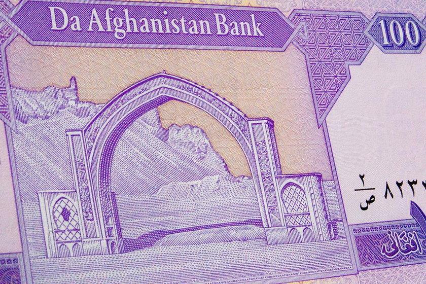 Banknot o nominale 100 Afgani