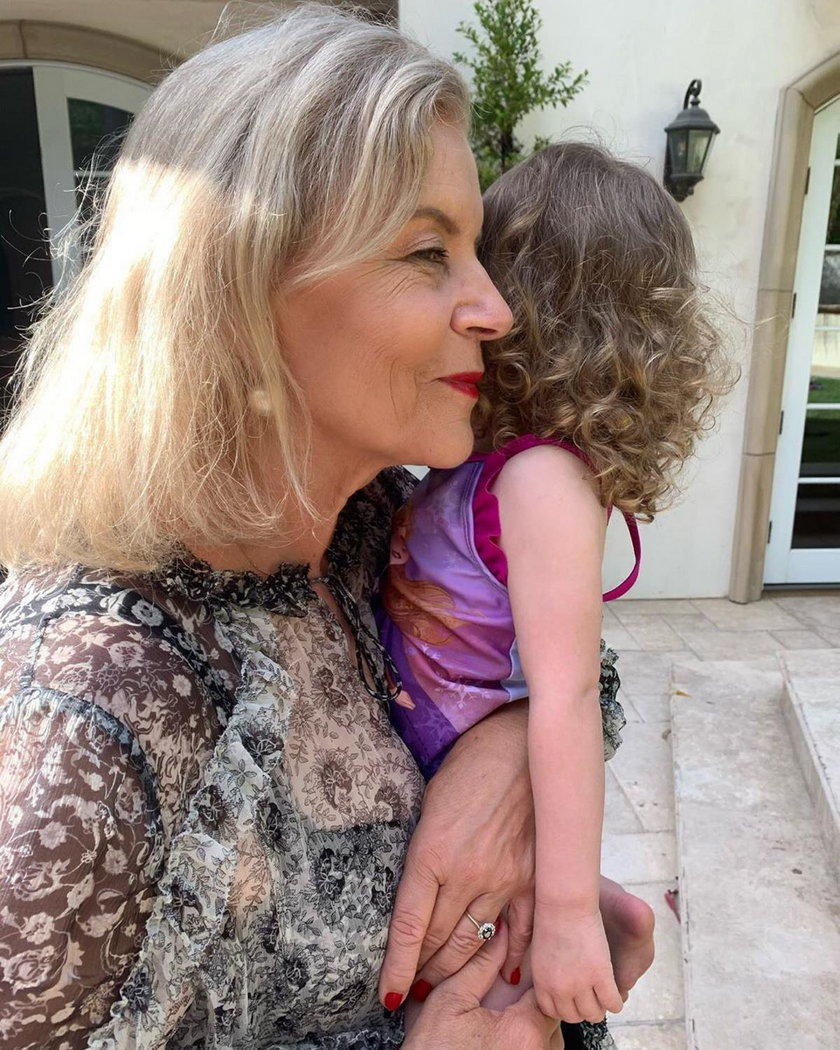 Teresa Rosati z wnuczką