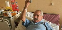 Skandal! Szpital porzucił pacjenta z udarem na schodach