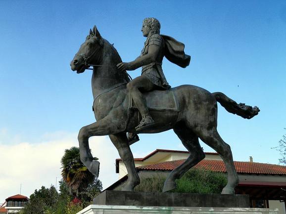 Statua Aleksandra Velikog