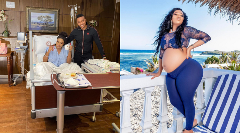 Vera Sidika & Mauzo welcome a bouncing Baby girl named Asia Brown