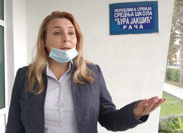 Direktorka škole Sanja Radojević