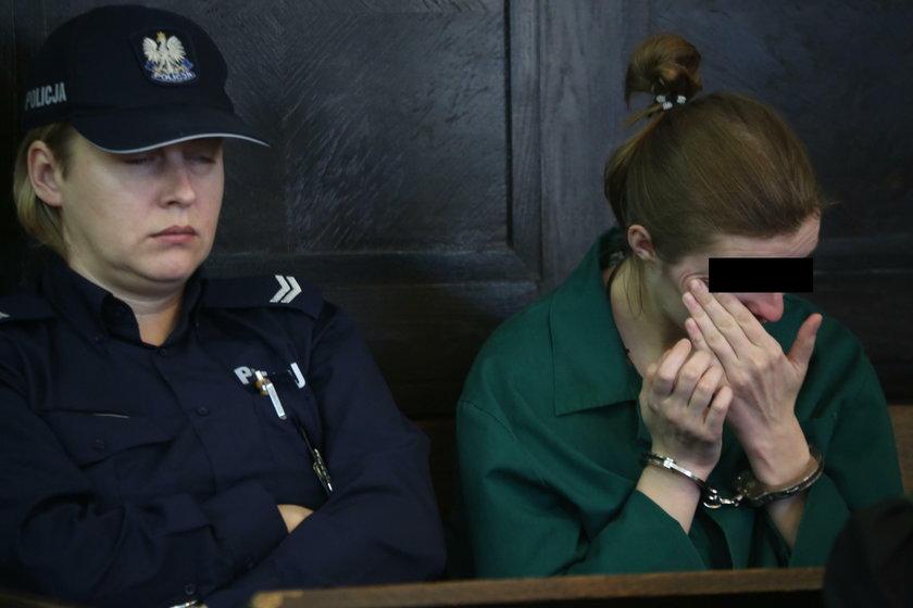 Joanna N. (28 l.) matka zamordowanej Oliwki