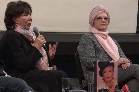 ZA NAS JE BILA ZVEZDA, ZA DRAGANA JE BILA MILENA: Seka Sablić održala govor za pamćenje o Mileni Dravić!Video