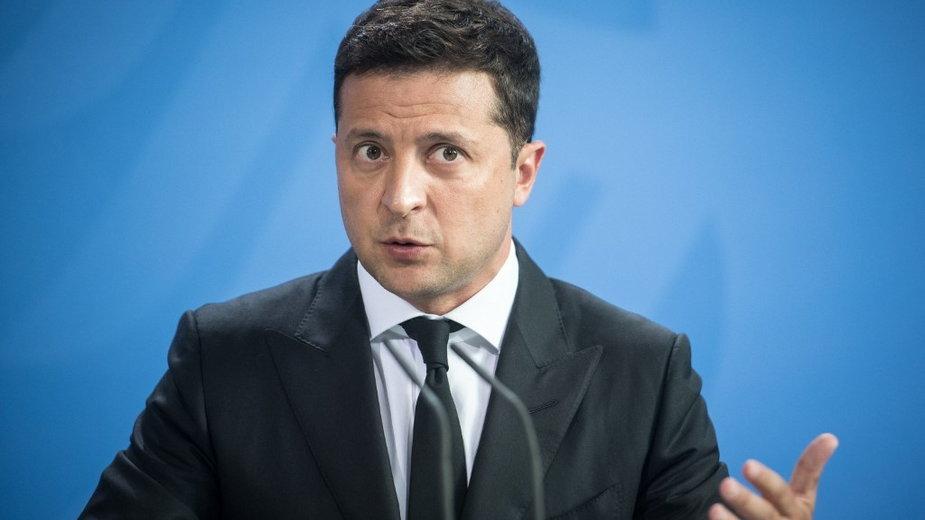 Prezydent Ukrainy Wołodymyr Zełeński