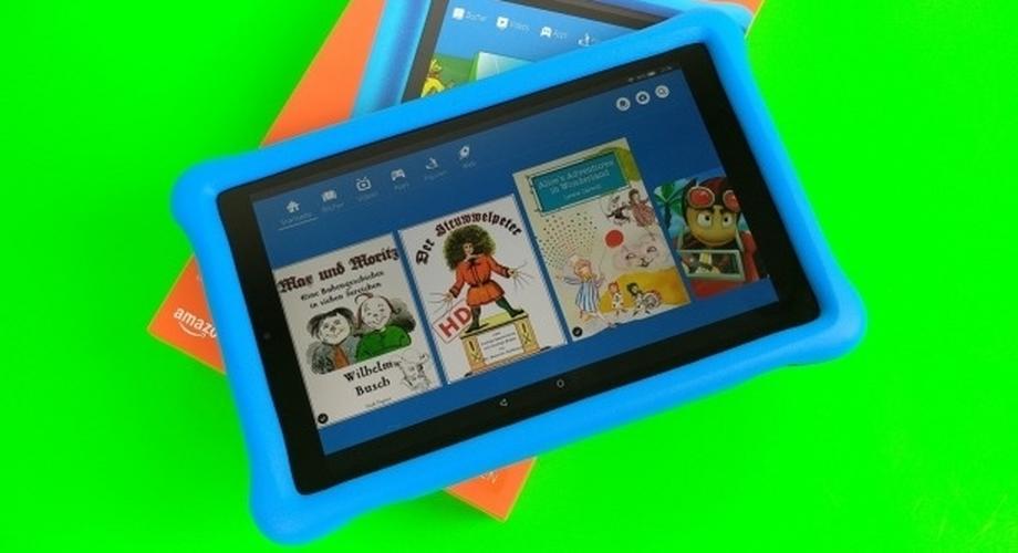 Amazon Fire HD 10 Kids Edition: kindertaugliches Tablet im Test