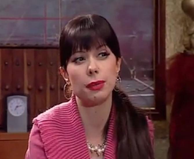 """Katarina Marković kao Roza u seriji  """"Agencija za SIS"""""""